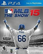 MLB 15: The Show Sony PlayStation 4, 2015 Free Shipping ps4 Adult Owned