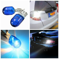 2 X Blue Xenon White Halogen DRL Sidelight Light Hid Bulb W21 5W T20 580 7443