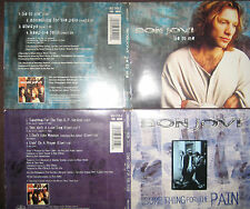 2 CD Jon Bon Jovi - Something For The Pain & Lie To Me Limited Edition RARE CDs
