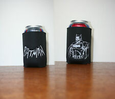 1 Batman Black CanCooler with Double Sided Design machine embroidered