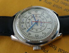 Stunning Men FORTIS Military 24-hrs Dial Manual Winding Wrist Watch SWISS Made