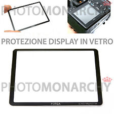 Protezione in vetro proteggi display NIKON D3 D3X D3S FOTGA ORIGINALE