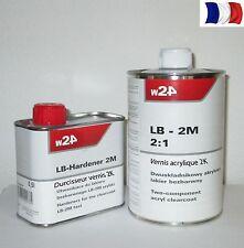 1L de vernis brillant + 0,5L Dur 2K pour moto  Broom Development