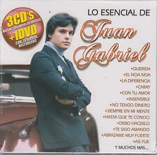 CD - Juan Gabriel NEW Lo Esencial 3 CD's & 1 DVD Fast Shipping !