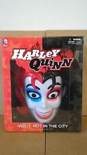 *HARLEY QUINN BOOK MASK SET HOT IN THE CITY DC NEW 52 BATMAN SUPERMAN JOKER