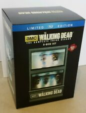 THE WALKING DEAD SEASON 3 FISH TANK LTD. EDITION 5 DISC BLU RAY SET....BRANDNEW!