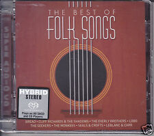 """The Best of Folk Songs"" Stereo Hybrid SACD CD Bread Cliff Richards Shadows Lobo"