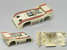1978 Aurora AFX Magnatraction G+ Porsche Audi 510K #6 Can-Am HO Slot Car BODY