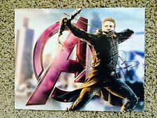 Jeremy Renner Signed 'The Avengers: Age of Ultron' 14X11 Photo HAWKEYE