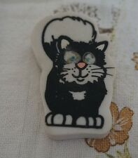 1980s Jess the Cat from Postman Pat Novelty Eraser / Rubber