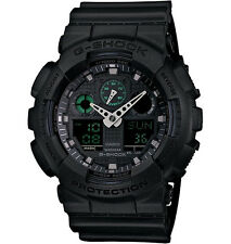 Casio Men's Analog Digital Black Military Watch GA100MB-1A