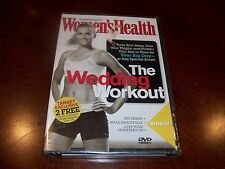Women's Health The Wedding Workout Flatten Abs For Your Big Day (DVD, 2006) NEW