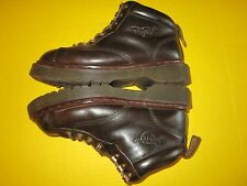"""DR DOC MARTENS AIR WAIR 8287 Brown Leather 5"""" Boots SZ 6 US Made in England VGUC"""
