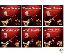 GHS GB-DGG David Gilmour Signature Series Red Electric Guitar Strings 6 PACK
