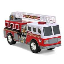 Tonka Mighty Motorized Vehicle Emergency Personnel Toy Carrier White Fire Truck