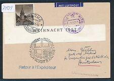 74139) NL, KLM FF Amsterdam - Moskau 21.7.58, Karte ab Liechtenstein, selten