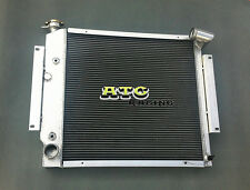 3 Row International Scout II & Pickup 5.0L 5.6L V8 1970-1981 aluminum radiator