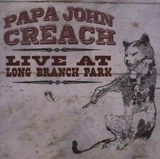 Papa John Creach Live At Long Branch Park 2-CD NEW Jefferson Airplane/Starship