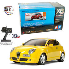 Tamiya 84134 Alfa Romeo MiTo M05 1/10 2WD RTR On Road Car XB Pro Yellow w/ Radio
