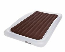 Shrunks Tuckaire Twin Size Inflatable Air Mattress With Security Rails And Pump