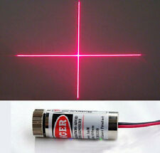 New Focusable 5mW 650nm Red Cross Line Laser Module Focus Adjustable laser Head