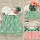 Baby Girls Polka Dot tutu Dress Clothes Newborn Baby Summer Dress Skirt 2015 New