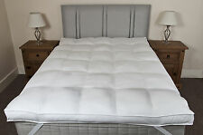 SLIGHT SECONDS Double Hotel Luxury 100% Cotton 10cm Thick Mattress Topper
