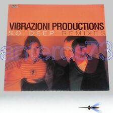 "VIBRAZIONI PRODUCTIONS ""SO DEEP"" 12"" MIX - FRED VENTURA"