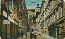 Croatia Zagreb Bregovita ulica animated street Popravci photo shop stores