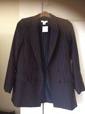 H&M Striped Blazer/Jacket