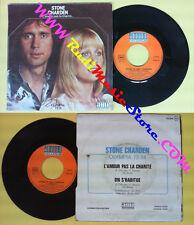 LP 45 7'' STONE ET ERIC CHARDEN L'amour pas la charite On s'habitue no cd mc dvd
