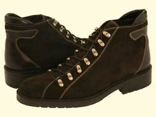 DONALD J PLINER Blane Expresso Brown Casual Hiker Boots Shoes Mens 11.5 RARE DS