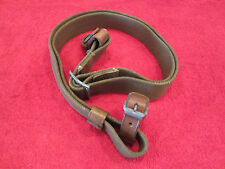 Finnish/Russian Mosin-Nagant Web Sling W/Leather Keeper's