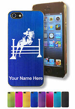 Personalized Case/Cover for iPhone 5/5S - HORSE HURDLES, HURDLING, JUMPING
