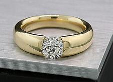 Brillant Ring 1,00 Carat Top Brillanz 585 Gelbgold Wert 13750 Euro Neu