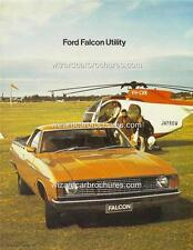 1977 FORD FALCON XC UTILITY A3 POSTER AD SALES BROCHURE ADVERTISEMENT ADVERT
