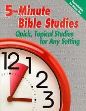 Five-Minute Bible Studies: Quick, Topical Studies for Any Setting