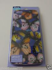 fits iPhone 5S, phone case  Claires glittery  butterfly design