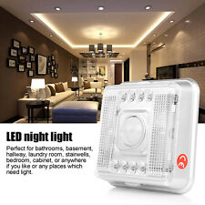 LED Light Lamp PIR Auto Sensor Motion Detector Wireless Infrared Closet Lights