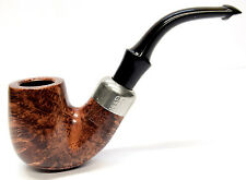 Peterson System Briar Pipe Large Bent Smooth Finish (312)