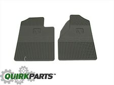 2005-2008 Dodge Ram 1500 Dark Khaki Front Rubber Slush Floor Mats OEM NEW MOPAR