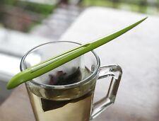 Kikkerland Tea Leaf Clip Loose Herbal Tea Bag Infuser Holder & 50 Filters Gift