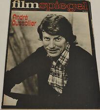 FILMSPIEGEL 12. MÄRZ 1974 - ANDRÉ DUSSOLLIER (FS 204)