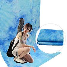 Fond Tissu Studio Photo Video DynaSun W025 Dark Blue 120g/sqm Réalisés à la main