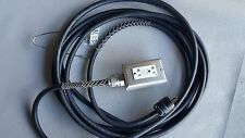 Power Drop Cord Extension Cable 5-15P to GFCI 12AWG 271/2'