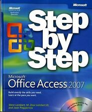 Microsoft® Office Access(TM) 2007 Step by Step (Step By Step (Microsoft)) by Lam