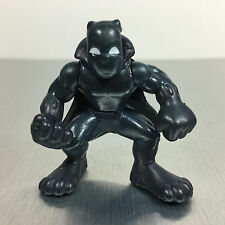 Marvel Super Hero Squad BLACK PANTHER figure gray suit/white eyes UNRELEASED!