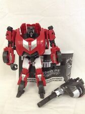 Sideswipe FOC 100% Complete Deluxe class Generations Transformers 2012 fall of