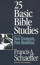 25 Basic Bible Studies by Francis Schaeffer (1996, Paperback)