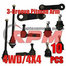 4WD/4X4 Silverado/Sierra/Yukon | 10 pc NEW Front Suspension Kit and Steering Set
